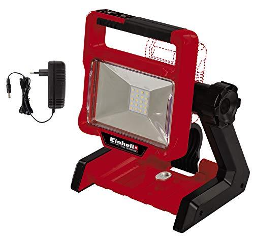 Einhell Akku-Lampe TE-CL 18/2000 LiAC-Solo Power X-Change (Li-Ion, 18 V, 2000 lm, 5700 K, 20 LEDs, schwenkbarer Leuchtkopf, 3 Helligkeitsstufen, Hybridfunktion, ohne Akku und Ladegerät)
