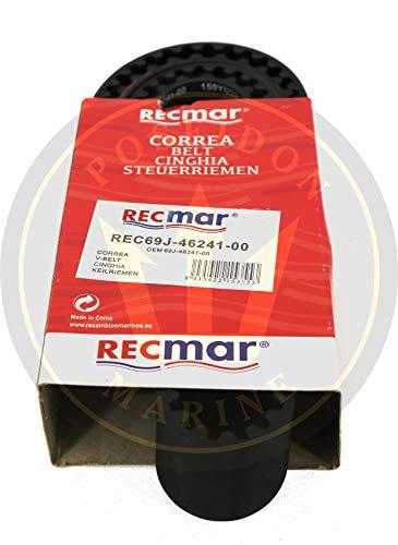 RECMAR Correa de Sincronización para Yamaha Outboard F(L) 200A/F(L) 225A 4-Stroke 69J-46241-00