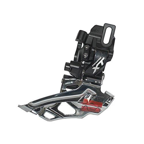 Shimano XT FD-M786D-L Front Derailleur Double Black, Dual Pull