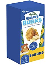 Heinz Farleys 150g Banana Rusks Milk Based, 0 to 6 Months