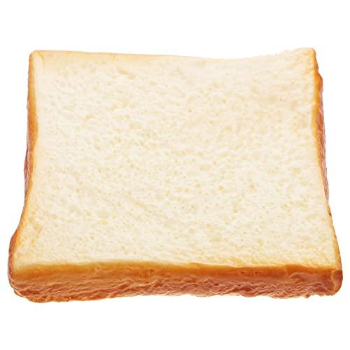 Sztuczny Chleb Fałszywe Krojonego Chleba: Fałszywe Toast Chleb Kawałek Symulacja Model Żywności Piekarnia Wyświetlacz Fotografia Prop Dla Domu Kuchnia Party Decor Styl 1