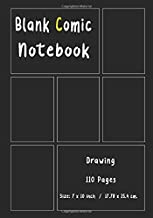 Blank Comic Book Size 7 by 10 inch 110 pages: 110 blank pages 7-panel Talent and Creativity with This Lots of Pages Comic Sketch Notebook For drawing ... design sketchbook, for artists of all levels