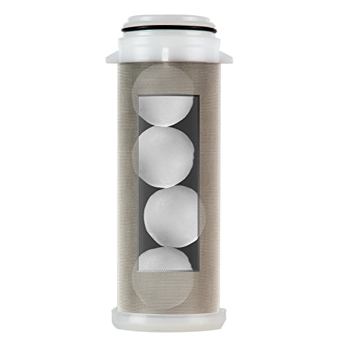 iSpring FWSP200SL Spin down Sediment Water Filter Replacement Cartridge, chrome