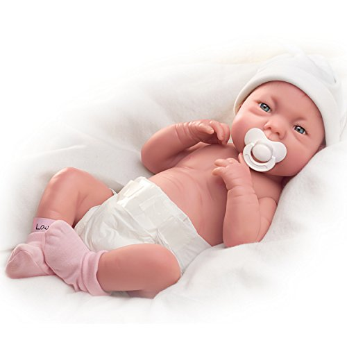 The Ashton-Drake Galleries A Lovely Gift is Little Lauren So Truly Real Lifelike Baby Doll