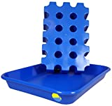 SL - Bloque de hielo – Enfriador de bebidas azul para botellas...