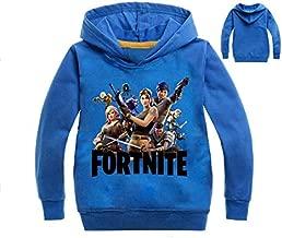 معطف Fortnite للأطفال عصري كاجوال الربيع والخريف بأكمام طويلة مزود بغطاء للرأس 120 سم طول، وردي