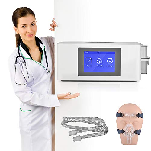 EnweOil CPAP-gerät mit Schlaftherapiesystem - Automatisches & Luftbefeuchter -BPAP