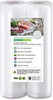 2-Pack BoxLegend BPA Free Vacuum Sealer Bags for Food Saver