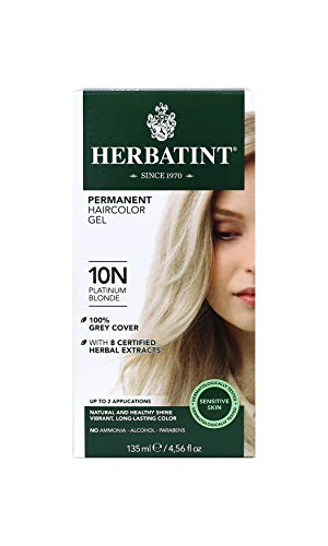 Herbatint Dauerhafte Kräuter Haarfarbe Gel Platin Blond