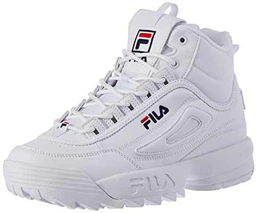 FILA Disruptor mid wmn Stivali Donna, Bianco (White), 39 EU