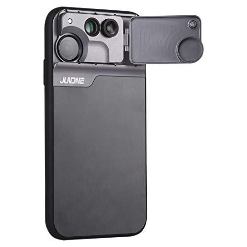 Für iPhone 11 Fall Handy-Objektiv Fisheye Makro Tele Telefon-Kasten for iPhone 11 Asun