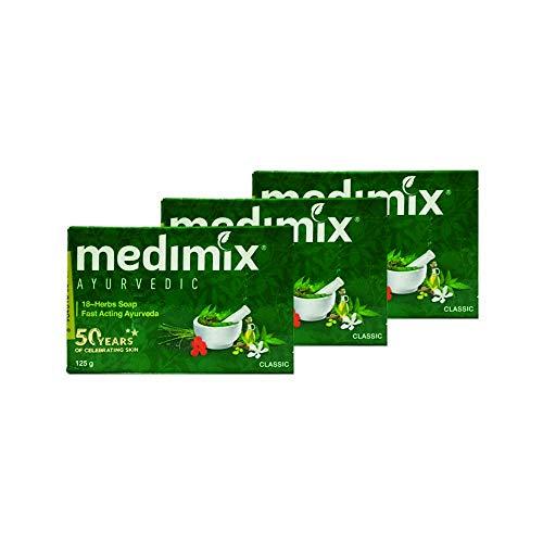 Medimix Savon ayurvédique réel 125g -pack de 3