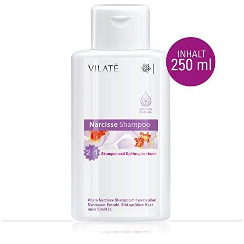 Vilaté Narcisse-Shampoo 2 in 1 - Gibt Ihrem Haar neue Vitalität.Gegen trockene Kopfhaut!