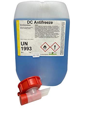 DC Antifreeze Scheibenenteiser 10 Liter Kanister + Auslaufhahn - Entfroster - Defroster