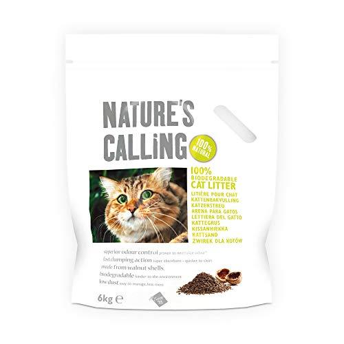 Nature's Calling Katzenstreu, 6kg, 2er-Pack