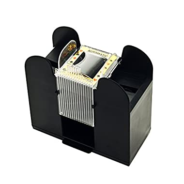 Trademark Poker Casino 6-Deck Automatic Card Shuffler