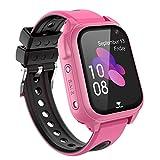 GPS Reloj Inteligente Niña - Smartwatch Niños Reloj GPS Niños Localizador, Reloj Inteligente...