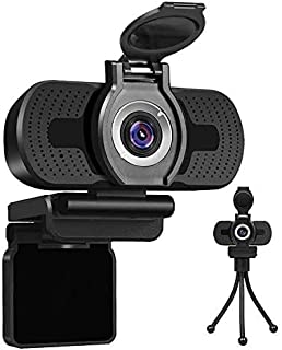LarmTek 1080P Full HD Webcam with Webcam Cover,Computer Laptop PC Mac Desktop Camera for Conference and Video Call,Pro Str...