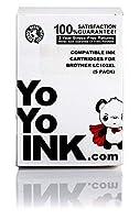 YoYoInk 互換インクカートリッジ Brother LC-103 XL用 大容量 (ブラック 2 シアン 1 マゼンタ 1 イエロー 5 パック)