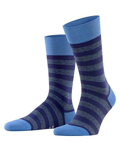 FALKE Herren Sensitive Mapped Line M SO Socken, Blau (Ocean Blue 6323), 43-46