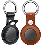 Premium Genuine Leather: Contacts Airtag Case Is Made With Genuine Leather, Provides You Perfect Hands Feelings. Designed With A Hollow Appearance Combine With Your Fashion Airtags, Show Off Advanced Taste Of You. Enhanced Protection: Improving The S...