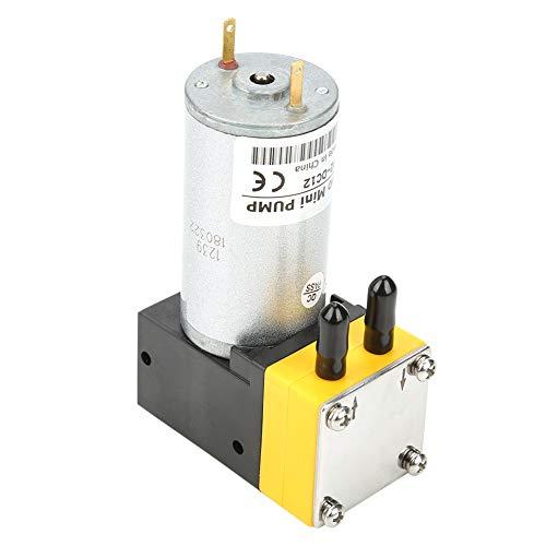 Mini Bomba de Vacío 12V 0.4-1L / min Micro Plástico Eléctrico DC...