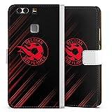 Étui Compatible avec Huawei P9 Plus Étui Folio Étui magnétique Diables Rouges Produit sous...