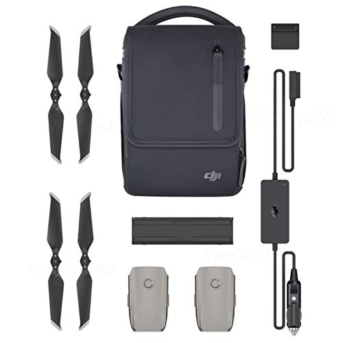 DJI Mavic 2 Zoom Drone Quadcopter with Fly More Combo, 3 Batteries, PGY ND Filters & Pad Holder, 128GB Extreme Micro SD, Landing Pad, Signal Booster, Extra Hard Carrying Case