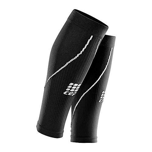 CEP – Calf Sleeve 2.0, Beinstulpen für Herren in schwarz, Größe IV, Beinlinge für exakte Wadenkompression, Made by medi