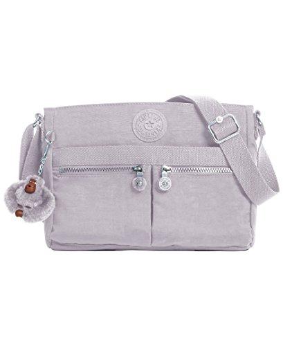 Kipling Women's Angie Slate Grey Tonal Crossbody Bag, t