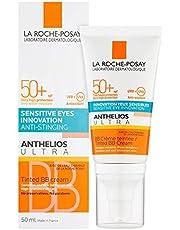 LA ROCHE-POSAY AnthelıosUltra Hydrating Tinted Cream Spf 50+ Hassas Ciltler İçin Renkli Güneş Koruyucu Yüz Kremi 50 Ml 1 Paket