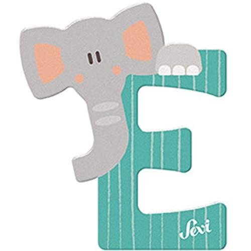Sevi 83005 Buchstabe E Elefant - 10 cm