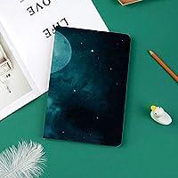 Ipad Pro 11 ケース(2018モデル) 軽量 薄型2つ折スタンド オートスリープ機能付き 全面保護 2018秋発売のiPad Pro 11に対応 スマートカバー月の星空上宇宙宇宙テーマの神秘的なミステリー天体風景