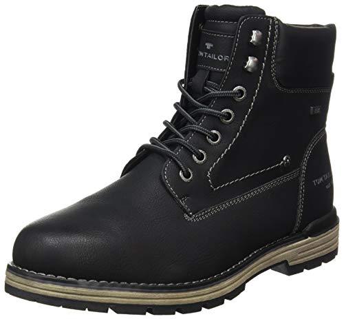 Tom Tailor Mens 9080501 Mid Calf Boot Bootie Boot, Black, 6.5 UK