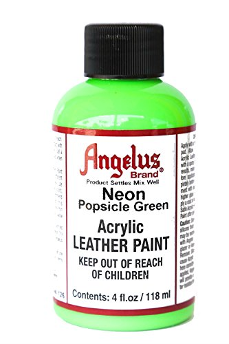Angelus 4oz Neon Paint (Popsicle Green)