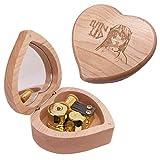 CLeader Lilium - Caja de música de madera, diseño de Elfen Lied