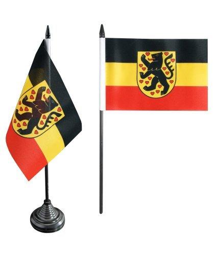 Flaggenfritze® Tischflagge Deutschland Stadt Weimar - 10 x 15 cm
