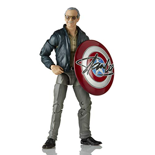 Hasbro Marvel Legends Series 15 cm große Stan Lee Action-Figur zu Marvel's The Avengers, enthält 2 Accessoires