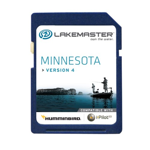Best Price Lakemaster 6000211 Digital GPS Electronic Fishing Chart - Minnesota