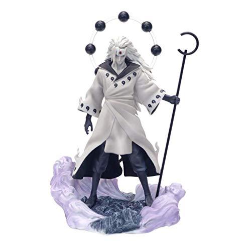 """Jiege Naruto Shippuden: Uchiha Madara Naruto Shippuden PVC Figure(Rikudō Sennin Mode)- 11.02"""" H (28cm)"""