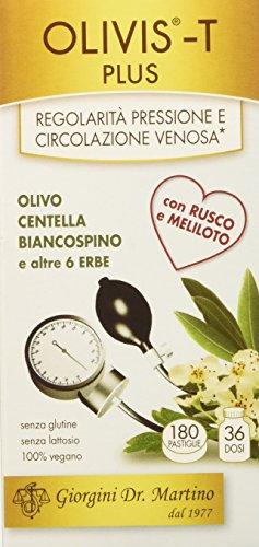 Dr. Giorgini Integratore Alimentare, Olivis Plus Pastiglie - 90 g