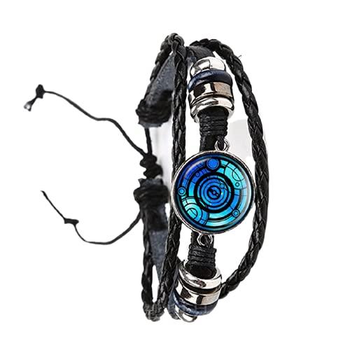 Pulsera con patrón de arpa celtas hecha a mano joyería talismán y tratamiento de lesiones ajuste religión Belie recuerdo brazalete