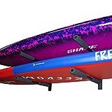 Canoashop.com Staffe Porta Tavole a Parete Doppio per SUP Surf e Windsurf - 2 posti Board Universale - Rack for Surfboard