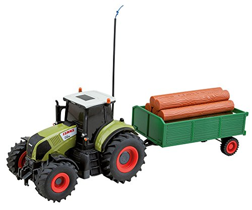 RC Auto kaufen Traktor Bild: Happy People 34417 - RC Claas Traktor mit Anhänger 1: 28, Fahrzeug*