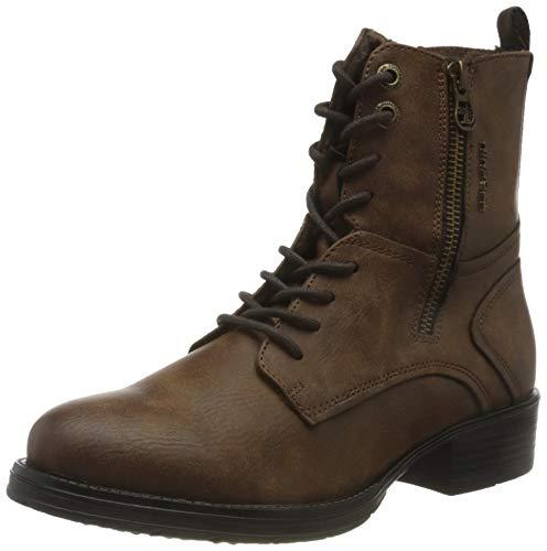 Tom Tailor Womens 9095704 Mid Calf Boot Bootie Boot, Coffee, 41 EU