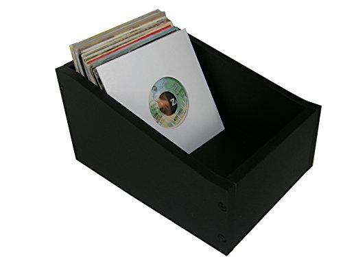 Single platten Vinyl Wood Box musictools, houten kist voor 150 7