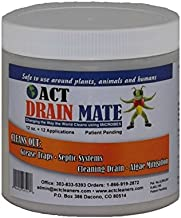 ACT Industrial Strength Microbial Drain Cleaner - 12oz - Environmentally Friendly - Unclog and Deodorize - Use in Grease Traps, Septic Systems, Drains