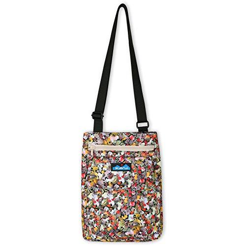 KAVU For Keeps Bag With Hip Crossbody Adjustable Purse Strap-Bloom Burst