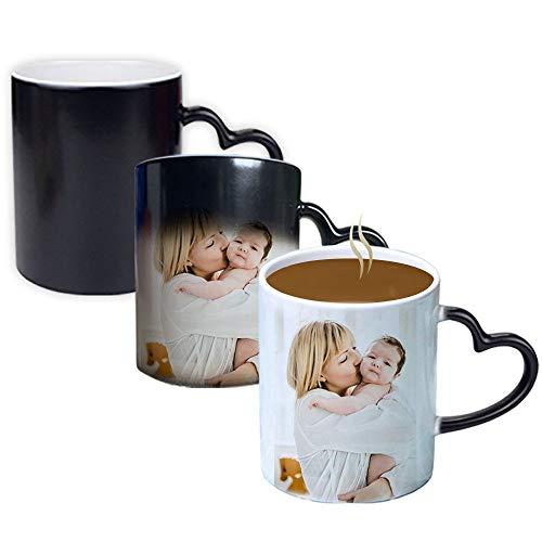 haellerry Benutzerdefinierte Foto-Kaffeetassen, mit Bild, Text, Name auf Kaffeetassen, personalisierte Geschenke, benutzerdefinierte Tasse, große Foto-Geschenke für Mama, Papa und Büro, Weihnachten