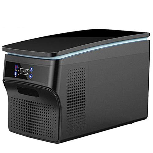 LIJING Mini Koelkast Draagbaar, Rustige Compressor LED Digitale Display Vriezer Koeler APP Controle Koude Warme Auto Vriezer Drankjes Koelkast 12V 24V-voor Auto Huizen Kantoren En Slaapzalen 32 liter.